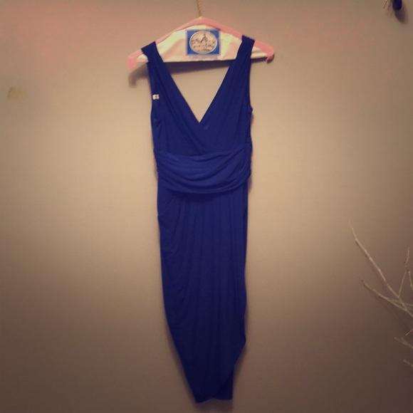 Maggy London Dresses & Skirts - Mangy London Blue dress